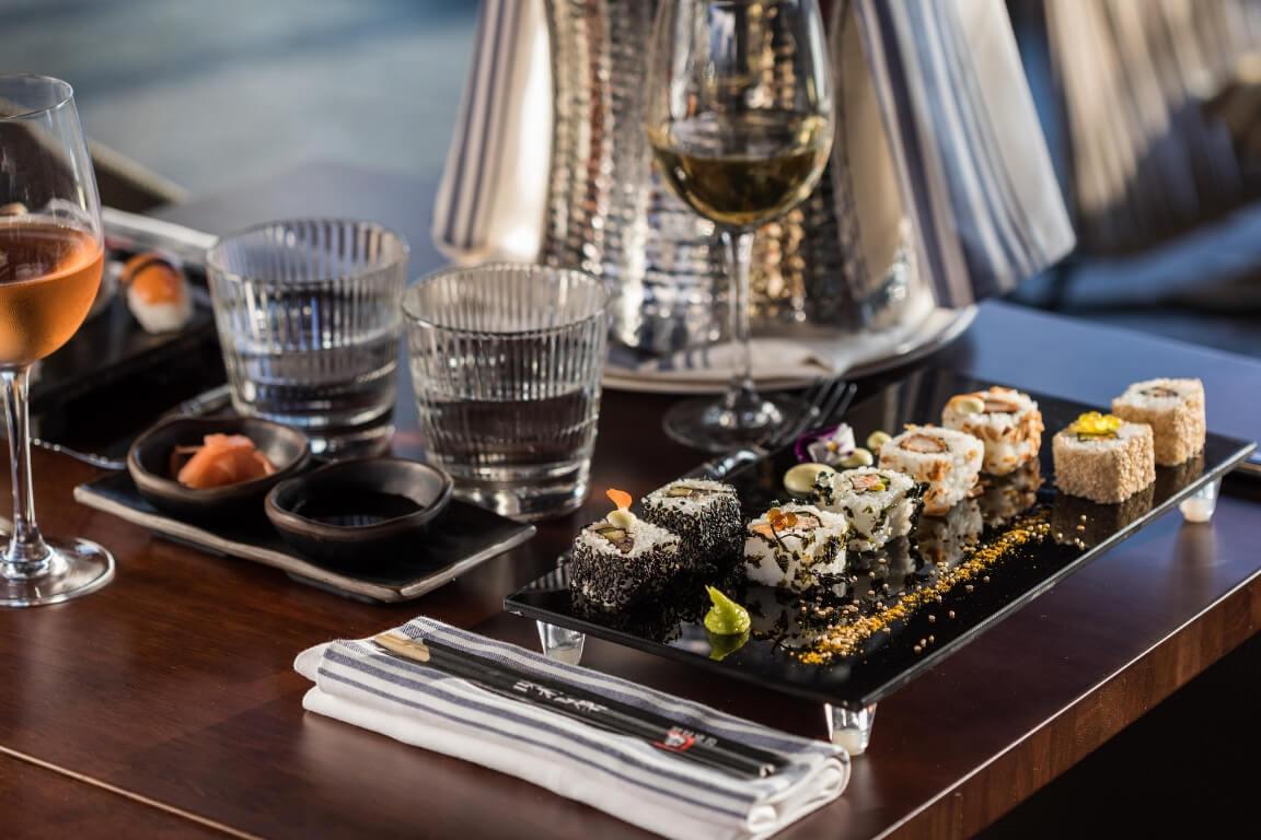 Carta de sushi El Voladís