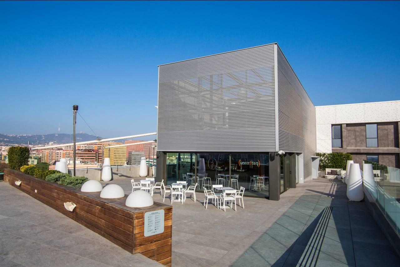 Terraza con piscina Hotel SB Plaza Europa Parentesis